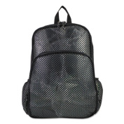 Mesh Backpack, 12 x 17 1/2 x 5 1/2, Black