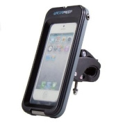 GMYLE(TM) Heavy Duty All Weather Waterproof Tough Case Adjustable Holder Bike Cycle Cycling Handlebar (15mm - 35mm) Mount for Smart Phone (iphone 4/4S/5/5S/5C , for Samsung Galaxy S3/S4) [IPX8]