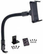 ARKON 46cm Flexible Aluminium Seat Rail or Floor Mount for All for for for for for for for for for for Samsung Galaxy Smartphones - Retail Packaging - Black