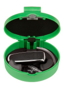 Green, Universal Bluetooth Headset Carrying/Protection Case (Large BluCase). Compatible with most Jabra, Motorola, Phantronics, Jawbone, for Samsung , BlueAnt, Nokia, and other brands of Bluetooth headsets.