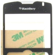 OEM (Original) Black Replacement LCD Screen Cover Glass Lens for Sprint Blackberry Curve 8330