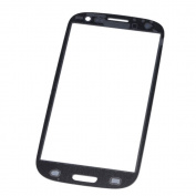 Primeshop-Replacement Front Screen Glass Lens Parts & Repair Kit for for Samsung Galaxy S3 SIII GT-i9300, Black