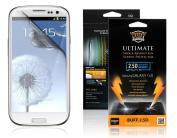 Buff Armour Shock Absorbing Phone Screen Protector- for for for for for for for for for for Samsung Galaxy S3 Front Only