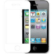 DELTON DSPIPJWH Japanese Style Premium Screen Protector For iPhone 4/4S - 1 Pack With White Border