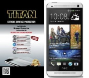 TITAN Anti-Breakage Anti-Scratch Screen Protector for HTC One - Frustration-Free Packaging - Clear