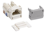 700206725 - Systimax GigaSPEED XL MGS400 Series Category 6 U/UTP Information Outlet, white