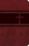 Compact Thin Single Column Bible-Ceb-Cross