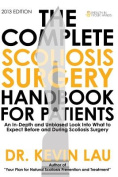 The Complete Scoliosis Surgery Handbook for Patients