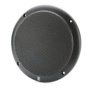 POLY PLANAR MA4056B / PolyPlanar 15cm 2-Way Coax-Integral Grill Marine Speaker - (Pair) Black