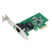 SEDNA - PCIE 10/100/1000 Gigabit Ethernet Adapter with Low Profile Bracket