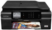 Brother Printer Work Smart MFCJ870DW Wireless Colour Inkjet All-In-One Printer with Scanner, Copier and Fax