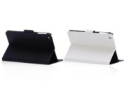 Nccypo 2PCs Slim Folio Folable Stand Leather Case Cover for Apple iPad Mini, with Card Slots