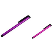 eForCity Purple & Pink Pack LCD Screen Metal Stylus Pen Compatible with New Kindle Fire HD 8.9 Touch