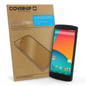 Cover-Up UltraView Google Nexus 5 Phone Crystal Clear Invisible Screen Protector
