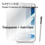 KaysCase Screen Protector for Samsung Note 2 Note II, 2 Pack