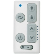 Emerson SW605 Six Speed and LED Electronic Wall Control, White
