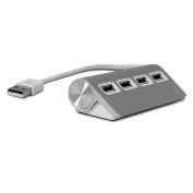 4 Port Aluminium USB Hub