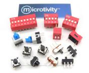microtivity IM255 Assorted Switches