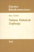 Nahum, Habakuk, Zephanja  [GER]