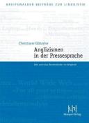 Anglizismen in Der Pressesprache [GER]
