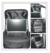 WennoW In Car & Carrying Case for Portable DVD Players upto 18cm 20cm 23cm 25cm