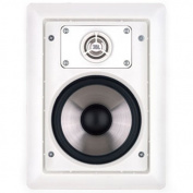 Leviton AEI80 Architectural Edition Powered By JBL, Pair of 20cm In-Wall Speakers