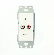 Leviton HKABS A-Bus Local Source Module, Wallplate Not Included, White