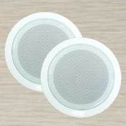 2 Sets Frisby 15cm 3-Way Home Theatre In-Wall Ceiling Speakers
