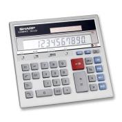 Wholesale CASE of 5 - Sharp 12-Dgt Dual Power Dsktp Display Calculator-12-Dgt Desktop Calculator,Dual Power,19cm x17cm x6.8cm ,GY