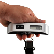Camry 50kg Pounds Luggage Scale with Temperature Sensor and Tare Function, Gift for Traveller
