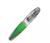 Nessie Light Up Pen Green