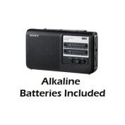 Sony Portable AM/FM Radio Black