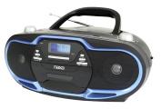 NAXA Electronics Portable MP3/CD Player, AM/FM Stereo Radio and USB Input