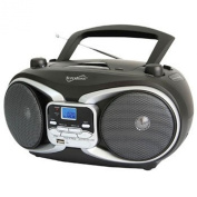 Supersonic Portable Audio System MP3/CD Player with USB/AUX Inputs & AM/FM Radio Supersonic Portabl
