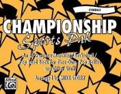 Championship Sports Pak Book Arr. Mike Story