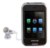 Craig Electronics CMP628E 2GB MP3 Plus Video Player with 6.1cm Screen