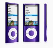 8GB 8G MP3 MP4 4.6cm LCD Media Player Vedio FM Slim 4rd Gen Purple
