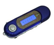 Generic M6 Blue Digital Mp3 Player for 2gb 4gb 8gb Tf/micro Sd Card Backlight LED
