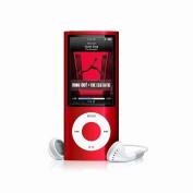 8GB 8G MP3 MP4 4.6cm LCD Media Player Vedio FM Slim 4rd Gen Red