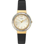 Timex Women's Ameritus Dress Watch, Black Patent-Leather Strap