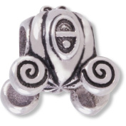 Connexions from Hallmark Stainless Steel Cinderella Carriage Charm