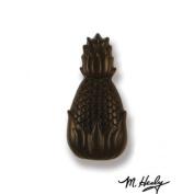 Michael Healy Designs MHR59 Hospitality Pineapple Doorbell Ringer Oiled Bronze