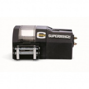 Superwinch 03003 C1000, Crane winch, 12 VDC, 1,000 lb-454 kg with roller fairlead, circuit breaker, (1515A) external sol