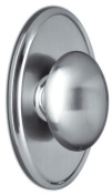 Weslock 2705J Julienne Single Dummy Door Knob with Oval Rose from the Elegance C