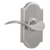 Weslock 1710U-LH Bordeau Left Handed Privacy Door Lever Set with Premiere Rose f