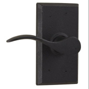 Weslock 7300H-LH Carlow Left Handed Passage Door Lever Set with Square Rose from