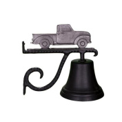 Montague Metal Cast Bell with Swedish Iron Classic Truck Ornament