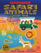 The Scribblers Fun Activity Safari Sticker Book