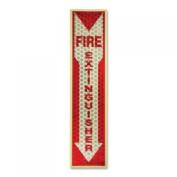 Miller's Creek 151833 Fire Extinguisher Sign Glow in Dark 4inx43cm RD/WE