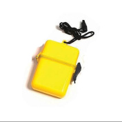 11cm Yellow Waterproof Personal Accessory Case